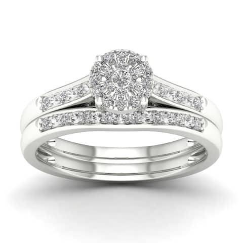 De Couer 1/5ct TDW Diamond Engagement Ring