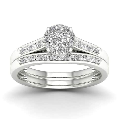 De Couer 1/5ct TDW Diamond Engagement Ring