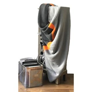 Citra Contemporary Stripe Cotton Trow Blanket