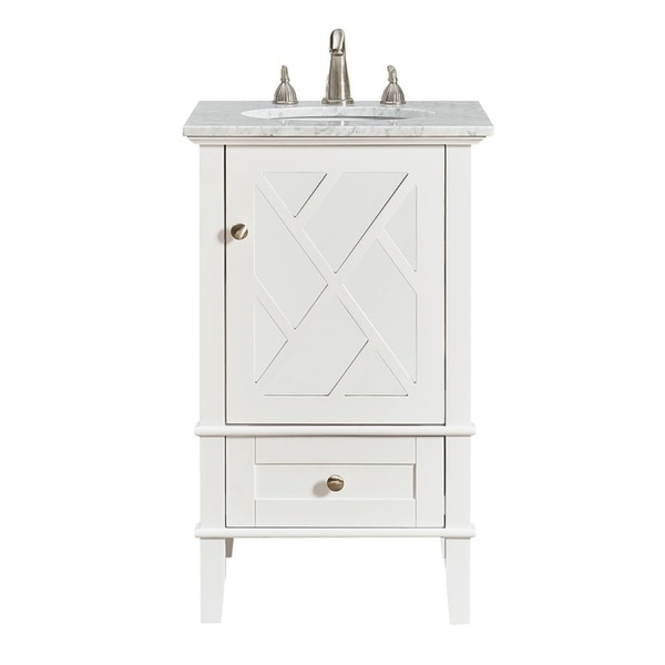 Phenomenal Shop 21 In Single Bathroom Vanity Set In White Free Download Free Architecture Designs Intelgarnamadebymaigaardcom