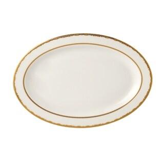 "Serving Platter 14"" Bone China Sonia"