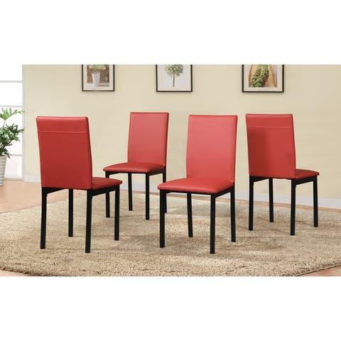 5 Piece Citico Metal Dinette Set with Laminated Faux Marble Top