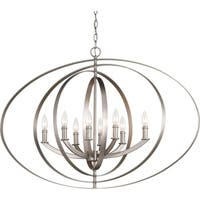 Equinox Collection Eight-Light Oval Pendant