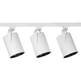 track lighting white. Brilliant White Alpha Trak Kits ThreeLight Track Kit To Lighting White
