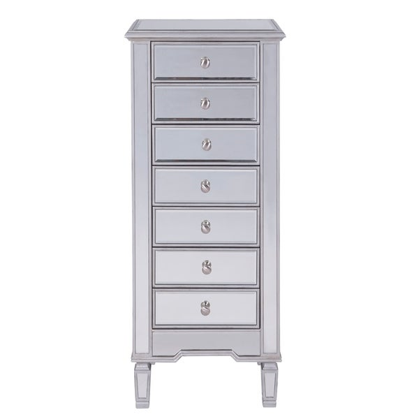 Chest 7 Drawers 20 W X 15 D 48 H In