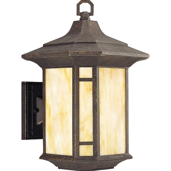 Arts and Crafts One-Light Wall Lantern