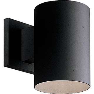 Black LED Outdoor Wall Cylinder