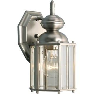 BrassGUARD One-Light Wall Lantern