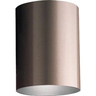 Bronze LED Outdoor Flush Mount Cylinder