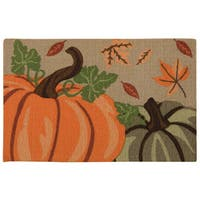 "Nourison Light Enhance ""Pumpkins"" Multicolor Accent Rug - Multi - 1'8 x 2'6"