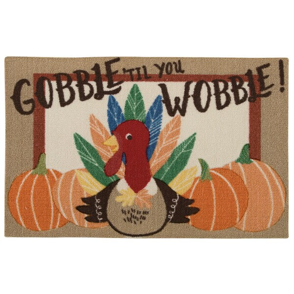 "Nourison Light Enhance ""Turkey"" Multicolor Accent Rug - Multi - 1'8"" x 2'6"""