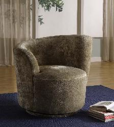 Elegant Red Swirl Velvet Swivel Club Chair
