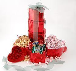 Holiday Hearts Gift Tower - Thumbnail 1