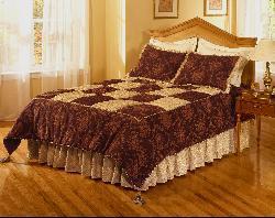 Vintage Elegance Handcrafted Bedspread