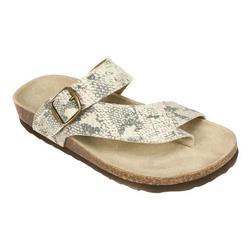 238d0ef0144fd Shop Women s White Mountain Carly Gold Exotic Print Leather - On Sale -  Free Shipping On Orders Over  45 - Overstock - 15195107