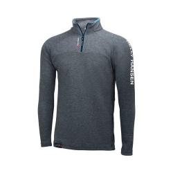 Men's Helly Hansen HP 1/2 Zip Pullover Charcoal