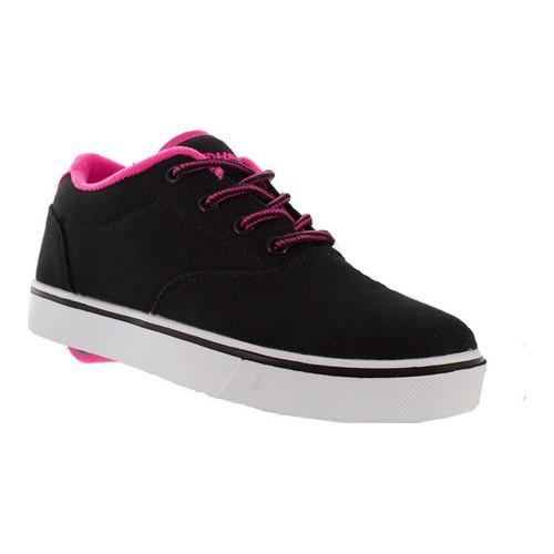 Children's Heelys Launch Sneaker Black/Neon Pink/White