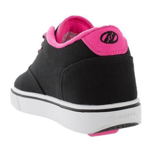 Children's Heelys Launch Sneaker Black/Neon Pink/White - Thumbnail 1