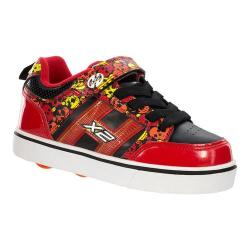 Children's Heelys Bolt Plus X2 Red/Black/Yellow/Skulls