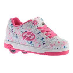 Children's Heelys Dual Up X2 White/Pink/Multi