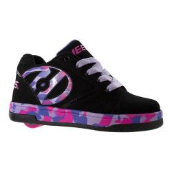 Children's Heelys Propel 2.0 Black/Lilac/Pink Confetti