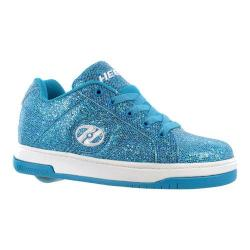 Children's Heelys Split Blue Disco/Glitter