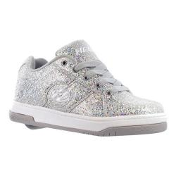 Children's Heelys Split Silver/Disco Glitter