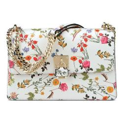Women's Nine West Baldree Small Floral Shoulder Bag White Multi