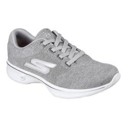 Women's Skechers GOwalk 4 Cherish Walking Sneaker Gray