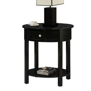 Convenience Concepts Classic Accents Cypress Wood End Table