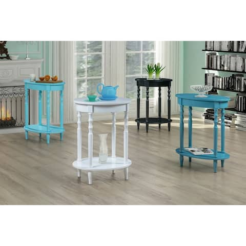 Classic Accents Brandi Oval End Table