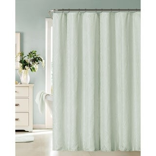 Dainty Home Romance Shower Curtain in Spa