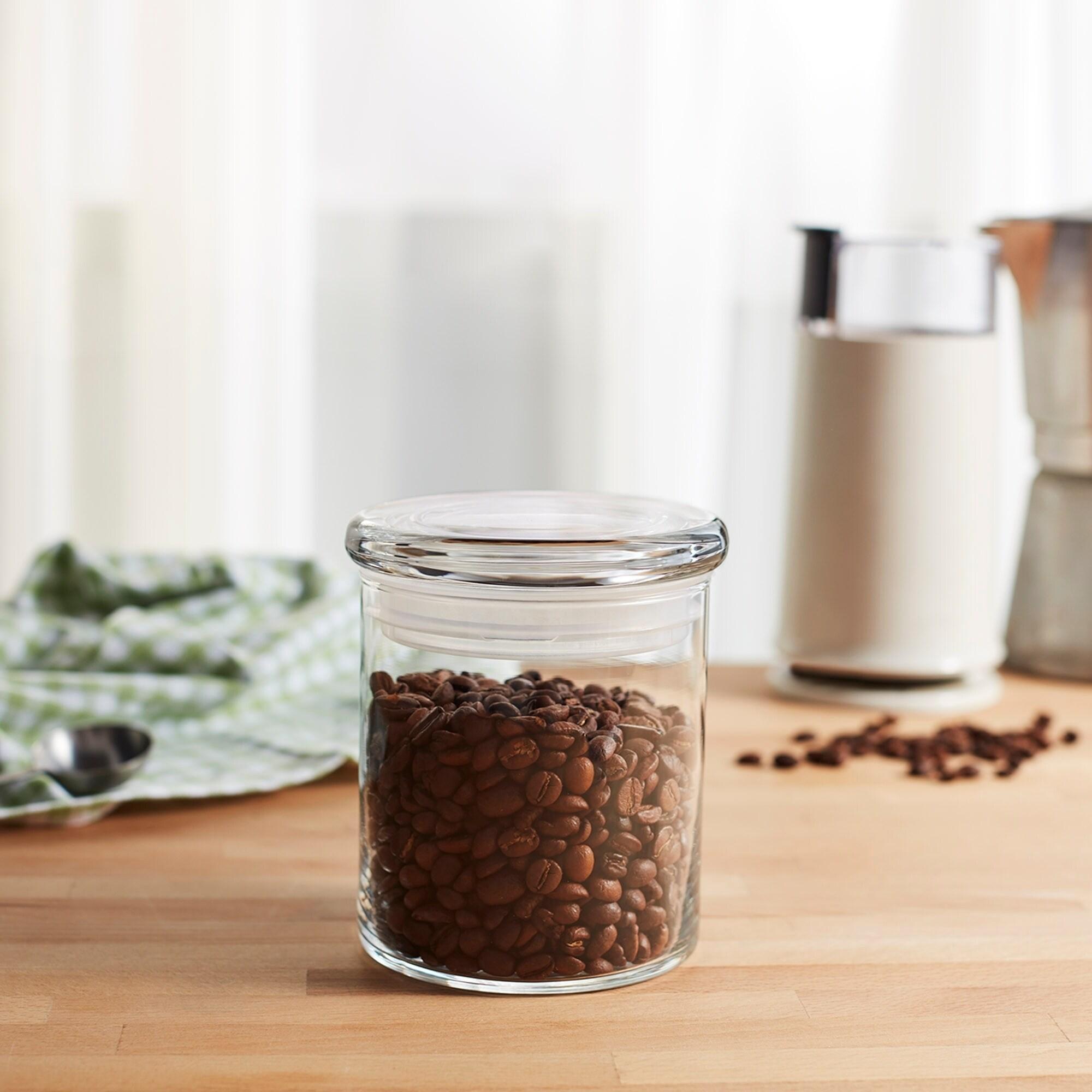 Libbey Cylinder 3-piece Glass Jar Set with Lids