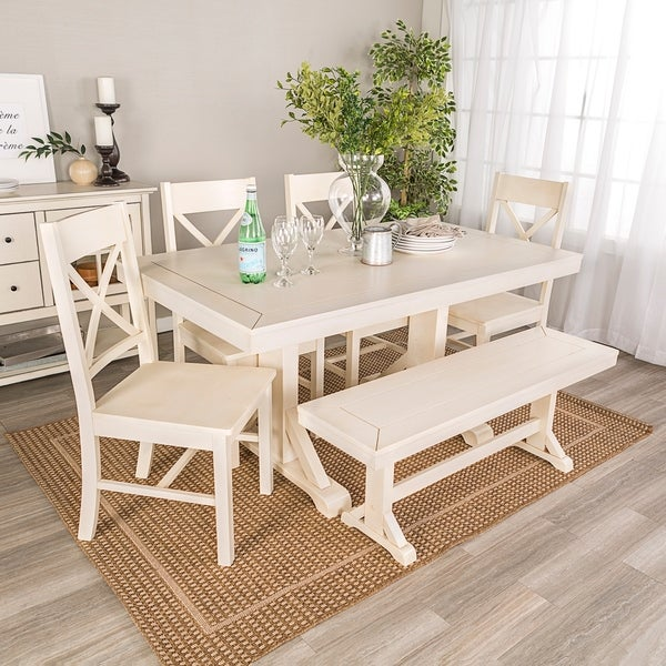 Shop 6 Piece Millwright Dining Set Free Shipping Today