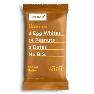 RXBar Peanut Butter Protein Bars (Pack of 12)