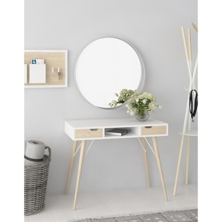 Jamesdar Blythe 2-Drawer Pocket Console Table