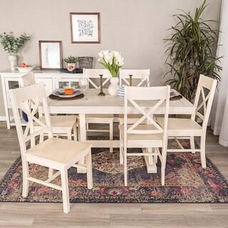 Millwright 7-Piece Wood Dining Set