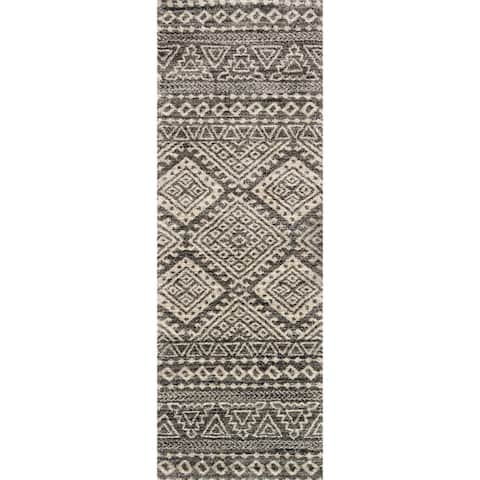 Alexander Home Brentley Moroccan Geometric Rug