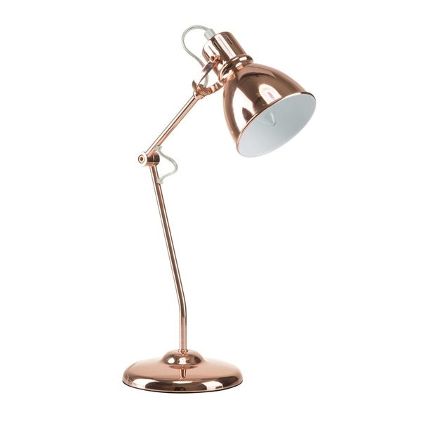 "Euro Style Collection Lyon 18"" Modern Table Lamp-Copper. Opens flyout."
