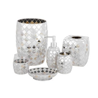Five Queens Court Mercer Mosaic Bathroom Accessories Collection (2 options available)
