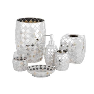 Mother Of Pearl Bathroom Accessories. Five Queens Court Mercer Mosaic Bathroom Accessories Collection
