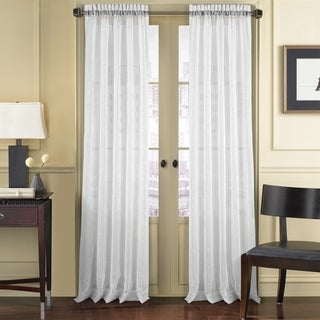 Five Queens Court Rochester Sheer Curtain with Rod Pocket