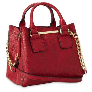 Steve Madden BMicro Triple Entry Satchel Handbag