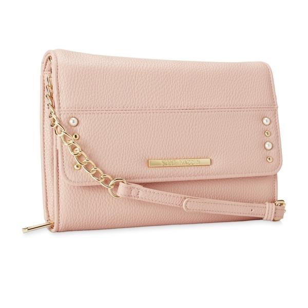 40236a740fa Shop Steve Madden BMarcie Pearls Crossbody Handbag - Free Shipping ...