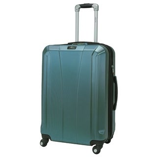 Skyway Pescadero 24-Inch Peacock Hardside Spinner Upright Suitcase