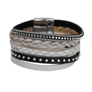 Handmade Saachi Savanna Multi Strand Bracelet (China)|https://ak1.ostkcdn.com/images/products/18000775/P24172008.jpg?impolicy=medium