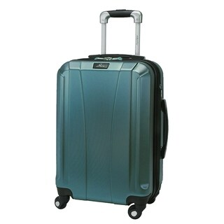 Skyway Pescadero 20-Inch Peacock Hardside Carry On Spinner Suitcase