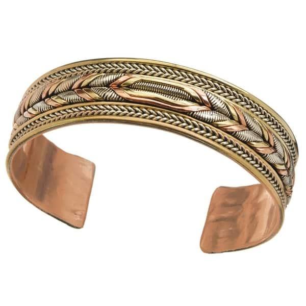 Nepalese brass Nepalese brass bangle bracelet