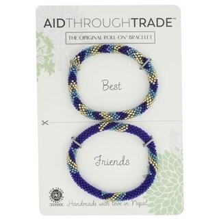Handmade Roll-On Friendship Bracelets - Invite Only (Nepal)