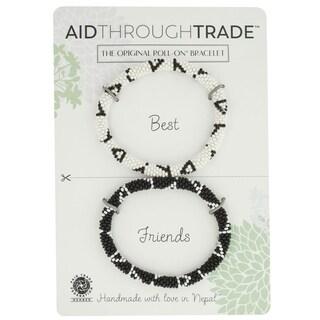 Handmade Roll-On Friendship Bracelets - Ink Well (Nepal)